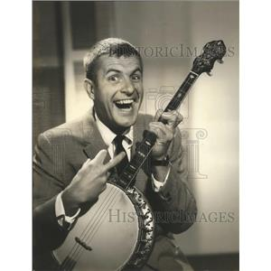 1963 Press Photo Comedian Jerry Van Dyke on show Picture This on CBS - lfx04448