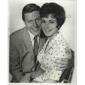 1967 Press Photo Dick Van Dyke, Janet Leigh in Bye Bye Birdie on CBS - lfx04457