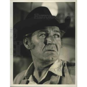 1965 Press Photo Gunsmoke on CBS starring Forrest Tucker - lfx04465