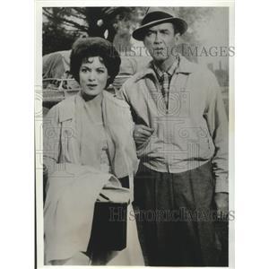 1967 Press Photo James Stewart, Maureen O'Hara in Mr Hobbs Takes A Vacation