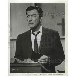 1966 Press Photo Johnny Tiger starring Robert Taylor in Universal film