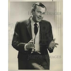 "1967 Press Photo Jack Paar in ""A Funny Thing Happened on the Way to Hollywood"""