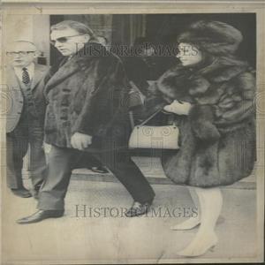 1969 Press Photo Richard Burton And Elizabeth Taylor