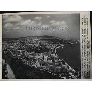 1956 Press Photo Budapest, Hungary Aerial View - ftx00417