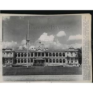 1960 Press Photo Saigon, Vietnam Presidential Palace of Ngo Dinh Diem