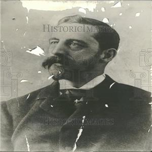1910 Press Photo Milton Fish Republican Convention Meet