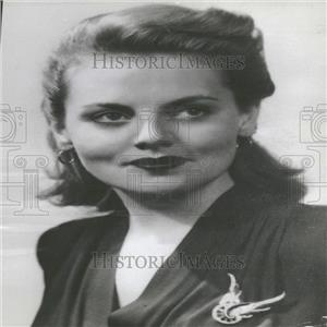 1943 Press Photo Jeanne Cagney - RRY28585