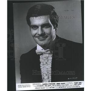 1968 Press Photo Omar Sharif Funny Girl Movie