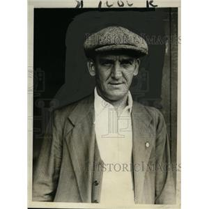 1930 Press Photo George Kessler, Guest of Thomas Lipton at Int'l Yacht Races