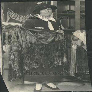 1924 Press Photo Mrs. Tracy Hovel - RRY27129