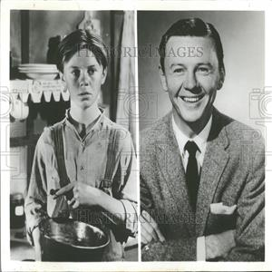 1962 Press Photo Jimmy Lydon Movie Actor TV Producer