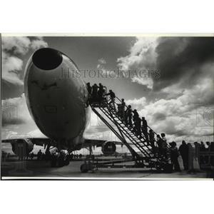 1984 Press Photo KC-10 at Aerospace Day, Fairchild Open House - spa42121