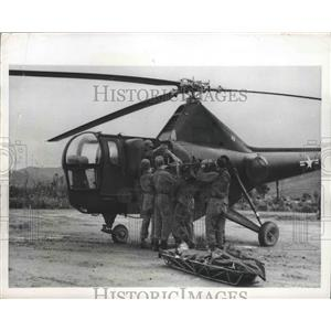 Press Photo Medical Helicopter Airlift - nef64659