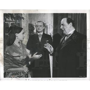 1959 Press Photo Leslie Caron The Doctor's Dilemma Film