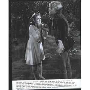 1958 Press Photo Finians Rainbow Actors Hancock Steele - RRY40763
