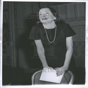 "1960 Press Photo Nina Foch Broadway's ""Second String"""