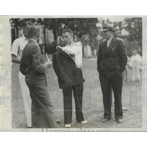 1934 Press Photo Charles Kocsis wins Intercollegiate Golf at Cleveland Yale was