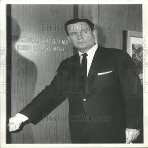 1962 Press Photo Wendell Corey American Actor