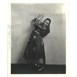 1935 Press Photo MCA Dorey Central City Festival Dancer