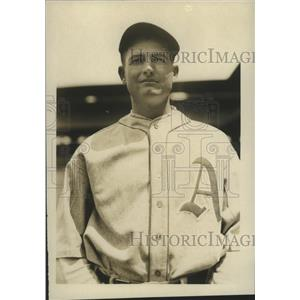1928 Press Photo Bill Shores, pitcher, Philadelphia Athletics - sbs01381