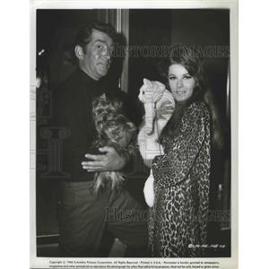 1966 Press Photo Dean Martin & Ann Margaret in a Columbia Pictures film