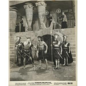 1949 Press Photo Samson and Deliah starring Victor Mature - lfx04926