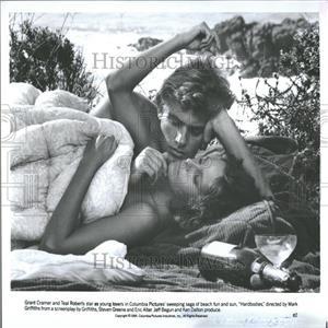 1964 Press Photo Actors Cramer Roberts Hardbodies