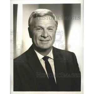1967 Press Photo Our Place with guest star Eddie Albert on CBC TV - lfx05007
