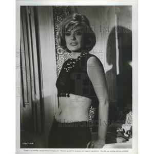 "1966 Press Photo Melina Mercouri, mystery woman in ""A Man Could Get Killed"""