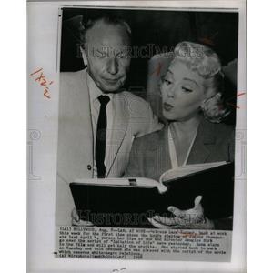 "1958 Press Photo Actress Lana Turner ""Imitation of Life - RRU36067"