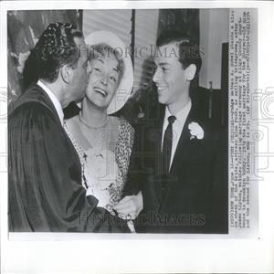 1954 Press Photo Actress Nina Foch