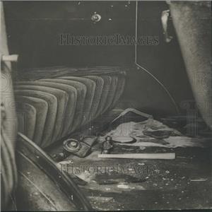 1928 Press Photo Detroit News Payroll Hol-up