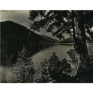 1930 Press Photo Sproat Lake, Vancouver Island, British Columbia, Canada