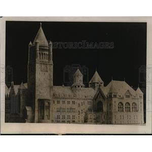 1919 Press Photo Poland Architechture - ftx01341
