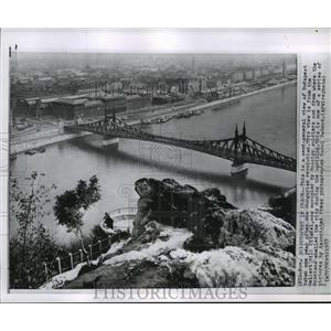 1957 Press Photo Budapest, Hungary after Revolution - ftx01414
