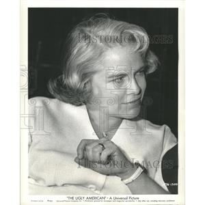 1963 Press Photo Ugly American Film Actress Brando