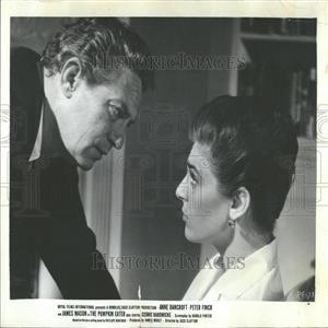 1964 Press Photo Oscar Winner Anne Bancroft Peter Finch