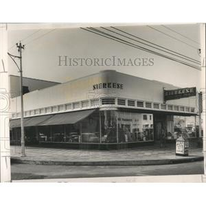 1912 Press Photo Sierkese fabric shopping mall Central