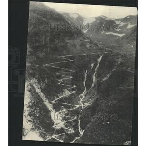 1932 Press Photo Norway Slanders Hills