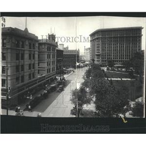 1916 Press Photo El Paso Business District