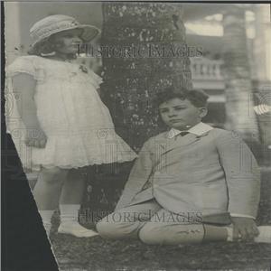 1919 Press Photo Miss Virginia Hylan Samuel New York