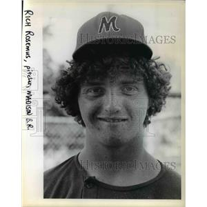 1978 Press Photo Rich Rosemus, a Sophomore at Madison High - ora74444