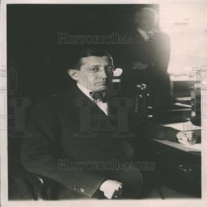 1921 Press Photo Hays Washington Dead Postmaster desk
