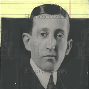 1920 Press Photo William Hays Suit Tie