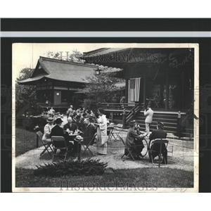 1937 Press Photo Japanese economic Mission Jackson