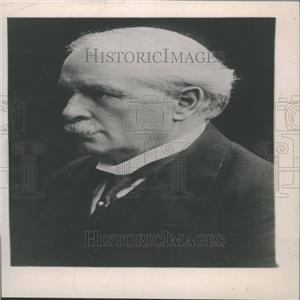 1922 Press Photo David Lloyd George U.K Prime Minister