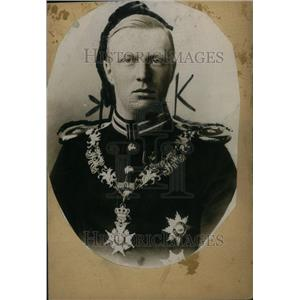 1919 Press Photo Prince Consort William Holland Marriag
