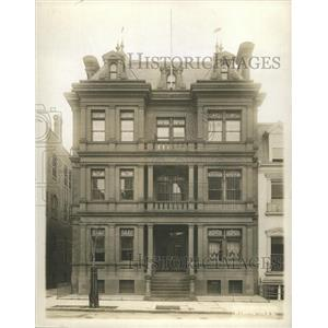 1917 Press Photo Mexican Embassy