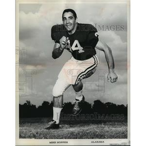 1964 Press Photo University of Alabama Football Player Mike Hopper - abnx00129