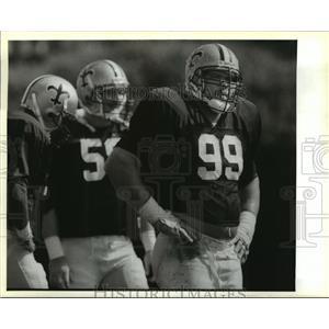 1988 Press Photo Tony Elliot at Saints Practice - noa02020
